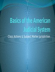 Basics%20of%20the%20American%20Judicial%20System%20-%20Class%20Actions%2C%20Jurisdiction%20%26%20Ven