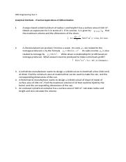 Practical applications of differentiation questions.docx