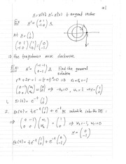 MATH 3650 Tangent Vector Notes