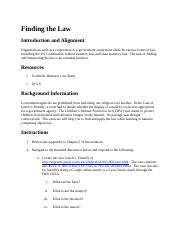 4.3 Finding the Law.docx