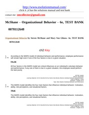 230683643-McShane-Organizational-Behavior-6e-TEST-BANK-0078112648