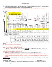 Periodic Trends Worksheet.pdf - Consequences of Zeff 1 As Zeff ...