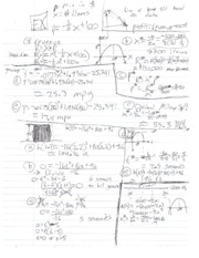 MATH 126 revenue equations