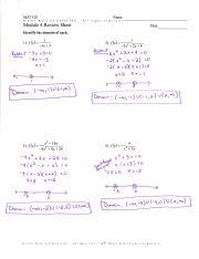 Module 4 Review Solutions (2)