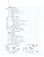 Economics Aggregate Supply and Demand Notes