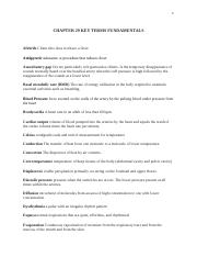 fundamentals CHAPTER 29 KEY TERMS