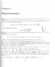 Introduction to Electrodynamics - ch05