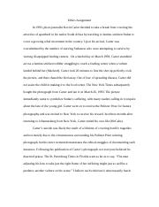 journalism northwestern university course hero 3 pages ethics assignment example