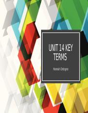 Unit 14 Key Terms.pptx