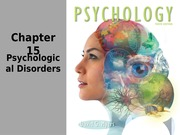 Chp 15 - Psych Disorders(1)