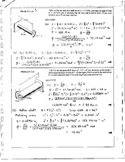 192_Mechanics Homework Mechanics of Materials Solution