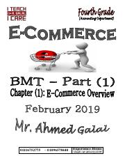E-Commerce - Accounting - Part (1) - Chapter (1) - February 2019.pdf
