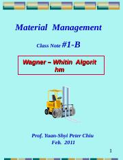 2011-1B-Wagner-Whitin.ppt