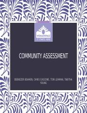 BSN COMMUNITY ASSESSMENT (1) (4)