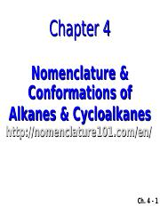 Chapter 04 ALKANES and CYCLOALKANES AH(2) (1)