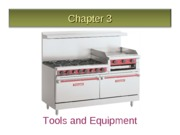 Chapter 3 Small equipment - Powerpoint