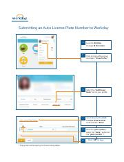 Workday License Plate How to Guide (ENGLISH) - Copy