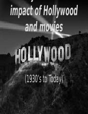 Hollywood Movies Effect On America.pptx