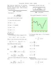 CalcExam2Solutions
