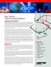 Gas-Turbine-Thermocouple-Systems