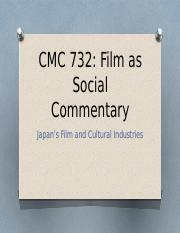 Japanese Film Industry powerpoint