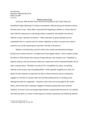 Cold War final essay 1