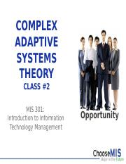 Class 02 - Complex Adaptive Systems Theory.pptx
