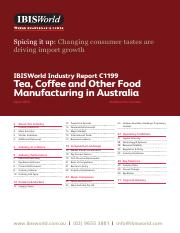 C1199 Tea, Coffee and Other Food Manufacturing in Australia Industry Report.pdf