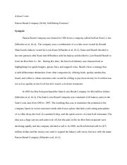 case study panera bread company Need essay sample on panera bread co case study we will write a cheap essay sample on panera bread co case study specifically for you for only $1290/page.