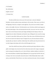The Scarlet Letter Character Analysis Paper.docx