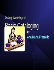 basic catalogingfinal.ppt