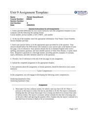 AB224 Unit 9 Assignment Template 0315