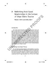 Reading_10 Smith & Zatori 2016 Host-Guest Relationships in Urban Tourism.pdf