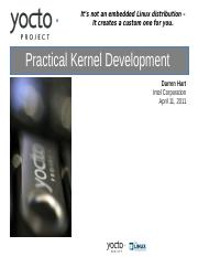 Elc11-yocto-kernel-tutorial pdf - It's not an embedded Linux