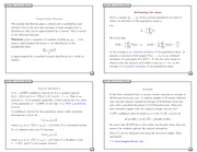 Notes 3 - Central Limit Theorem