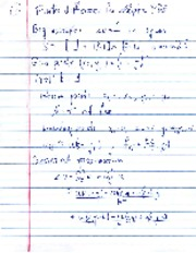 Laplace Equation notes