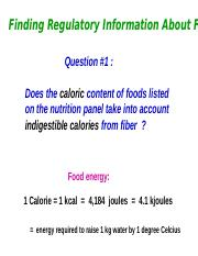 Oct 24  Regulation of the Food Supply (2).ppt