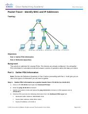 5.1.4.4 Packet Tracer - Identify MAC and IP Addresses Instructions.docx