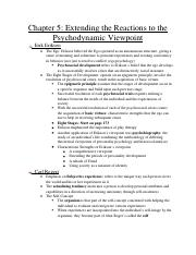 Psychology Notes-Chapter 5