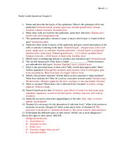 Help with biology study guide question?