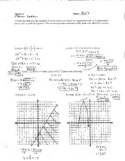 degree equations notes