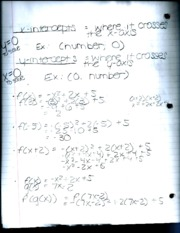 PreCalculus Math Notes 3