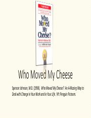 Who Moved My Cheese-1