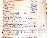 Characteristics of Egyptian Art, class notes
