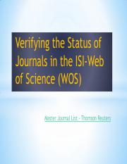 7-Verifying the Status of Journals in the ISI Web of Science_2.pdf