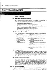 ACCT Assignments Chapter 10