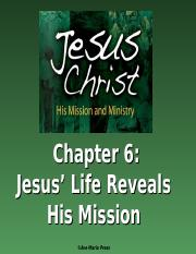 JesusChristHisMissionandMinistry-PowerPoints-Chapter6