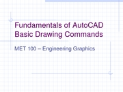 Fundamentals of AutoCAD 5