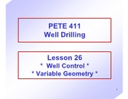 26 Well Control Variable Geometry