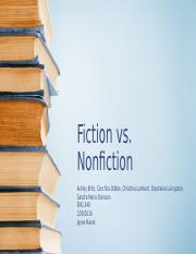 ENG 340, Week 5, Team A, Fiction vs. Nonfiction_chita